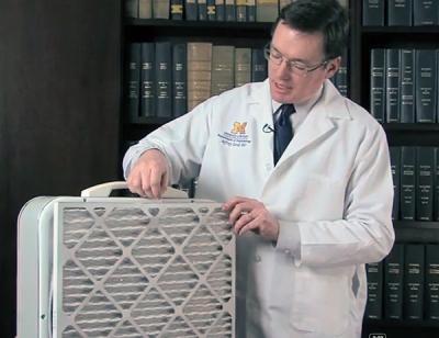 چگونه یک دستگاه تصفیه هوا بسازیم؟