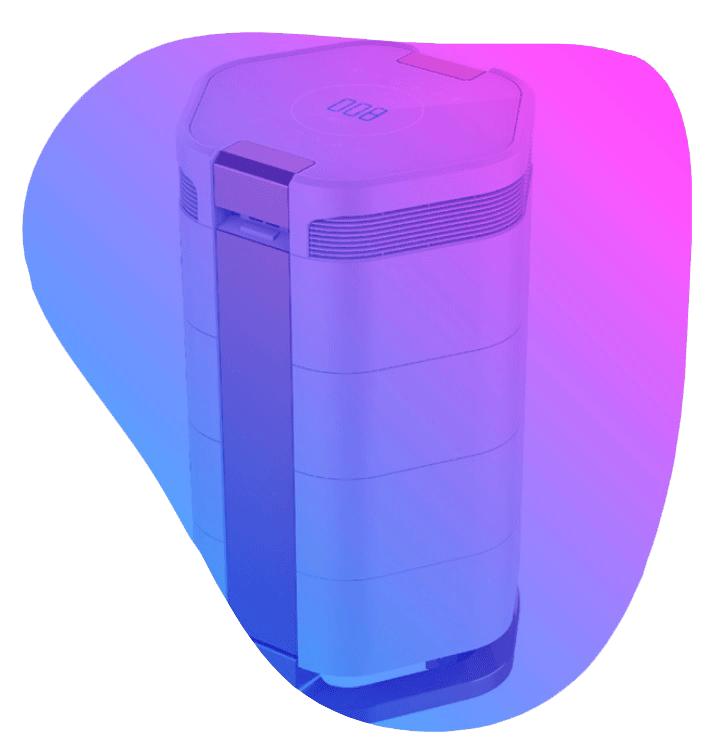 دستگاه تصفیه هوا مدل نئوتک HC600A